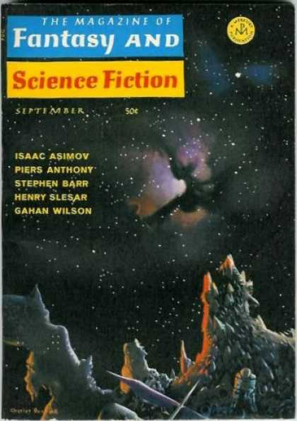 Fantasy and Science Fiction 208