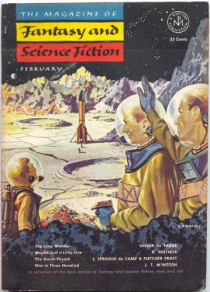 Fantasy and Science Fiction 21