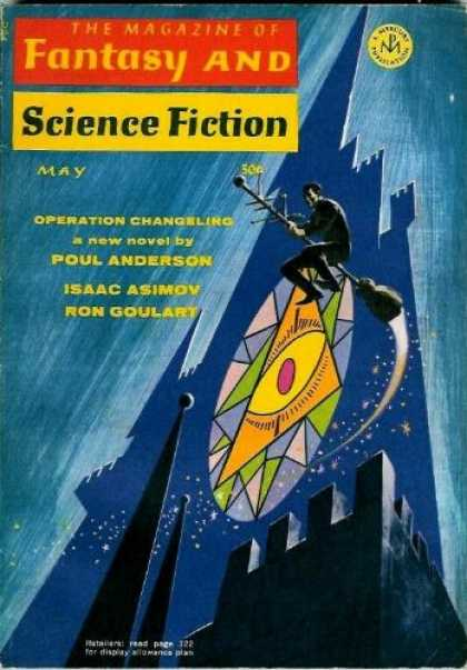 Fantasy and Science Fiction 216