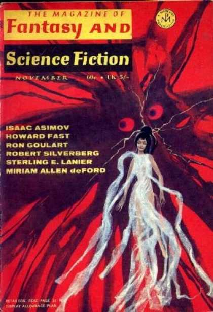 Fantasy and Science Fiction 222