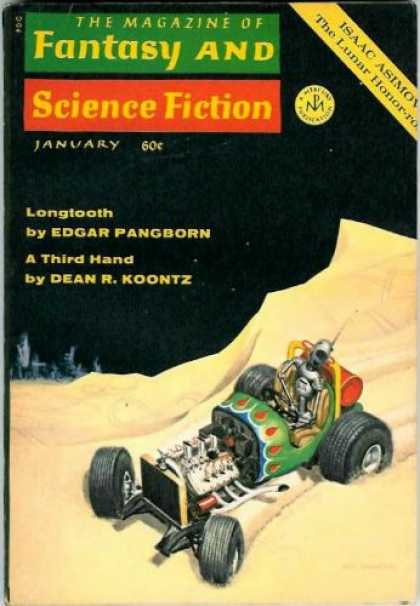 Fantasy and Science Fiction 224