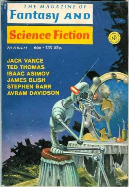 Fantasy and Science Fiction 238