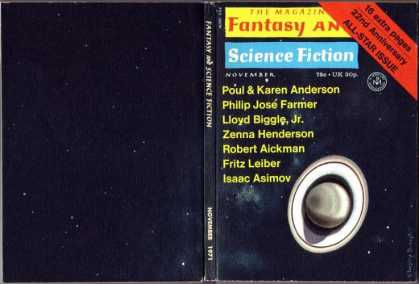 Fantasy and Science Fiction 246
