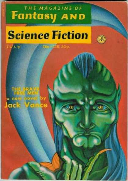 Fantasy and Science Fiction 254