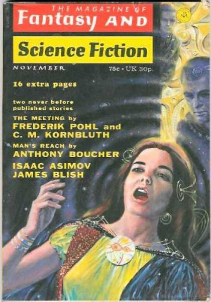 Fantasy and Science Fiction 258