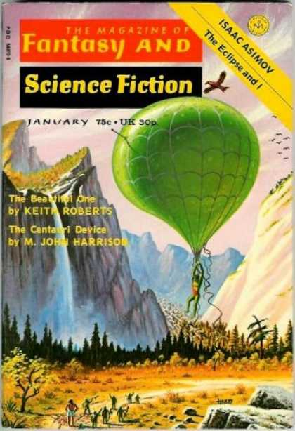 Fantasy and Science Fiction 272