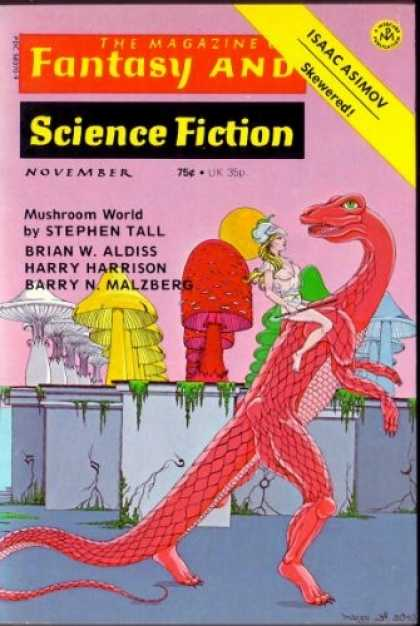 Fantasy and Science Fiction 282