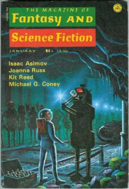 Fantasy and Science Fiction 296