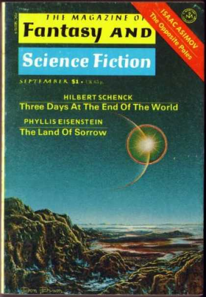 Fantasy and Science Fiction 316