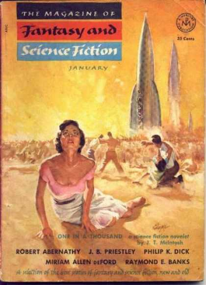 Fantasy and Science Fiction 32