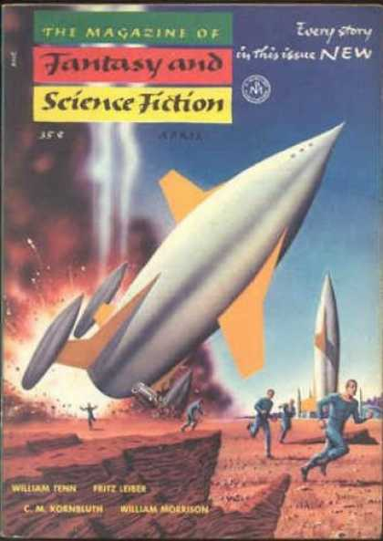 Fantasy and Science Fiction 35