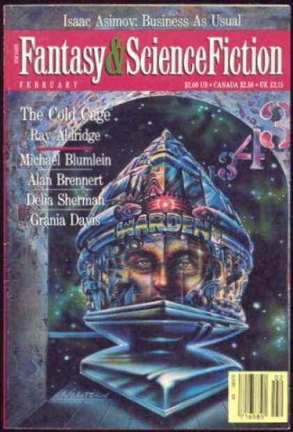 Fantasy and Science Fiction 465