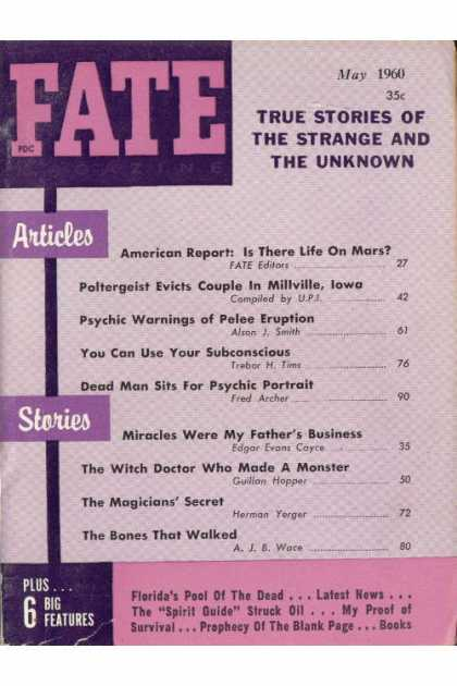 Fate - May 1960