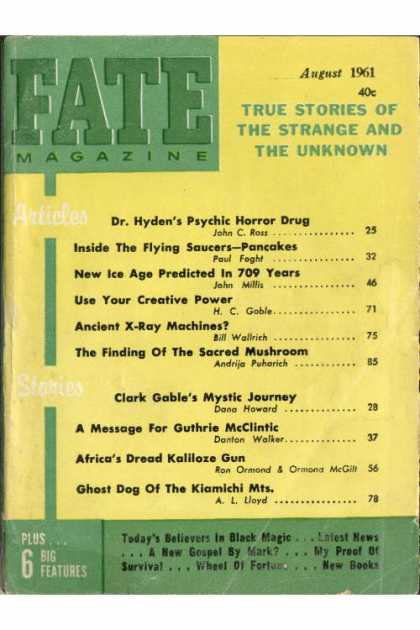 Fate - August 1961