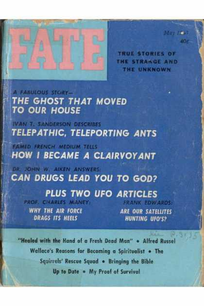 Fate - May 1963