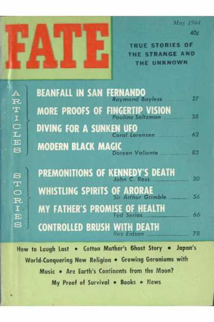 Fate - May 1964