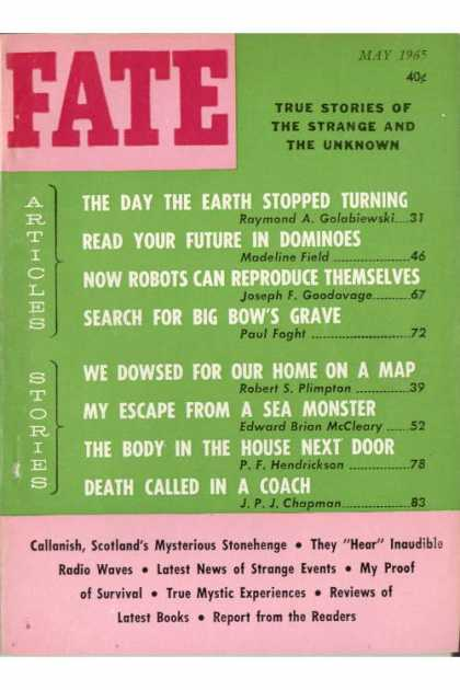 Fate - May 1965
