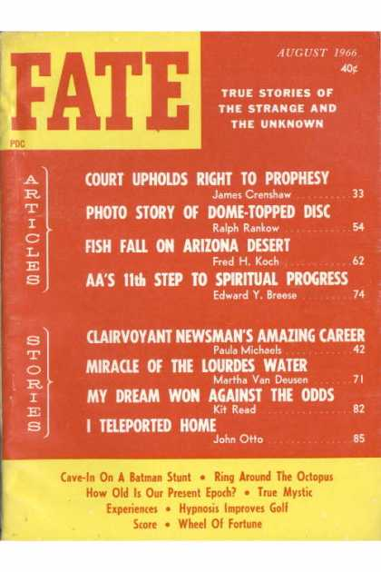Fate - August 1966