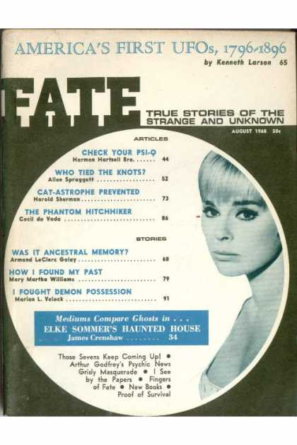 Fate - August 1968