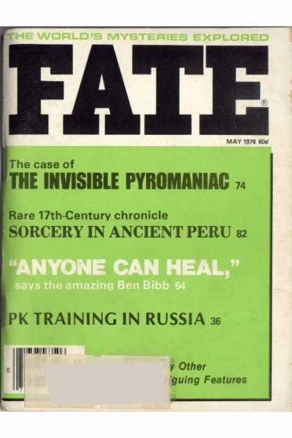 Fate - May 1976