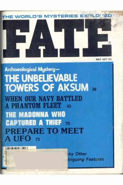 Fate - May 1977