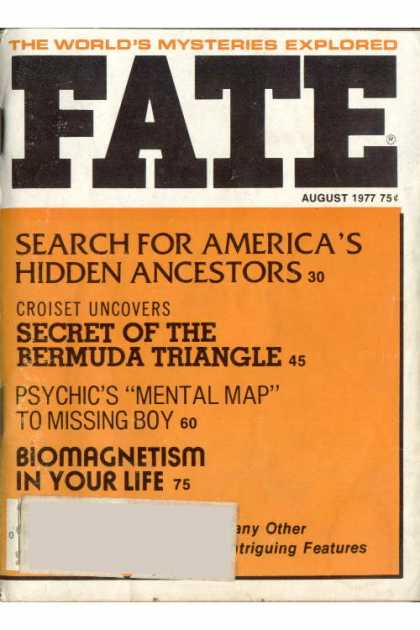 Fate - August 1977