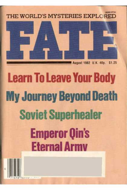 Fate - August 1982