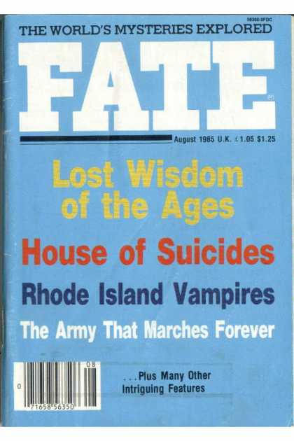 Fate - August 1985