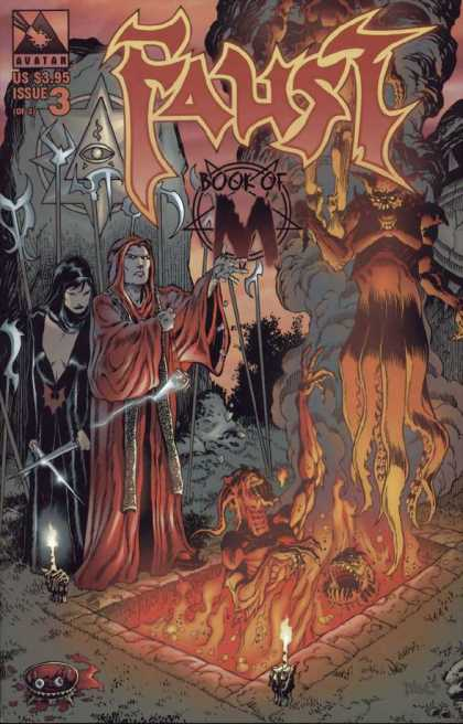 Faust 3 - Issue 3 - Book Of M - Demon - Knife - Mage