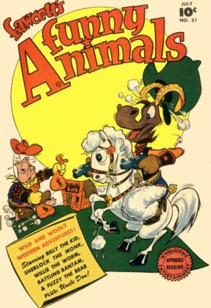 Fawcett's Funny Animals 50