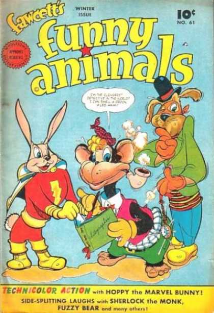 Fawcett's Funny Animals 60