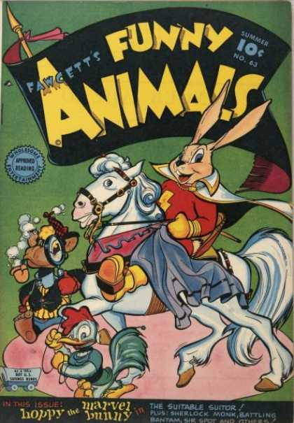 Fawcett's Funny Animals 62