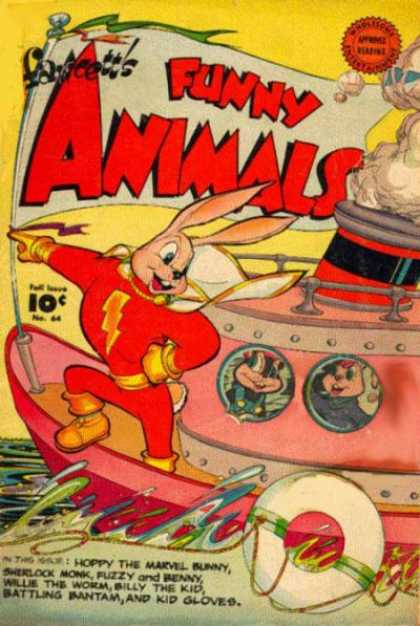Fawcett's Funny Animals 63
