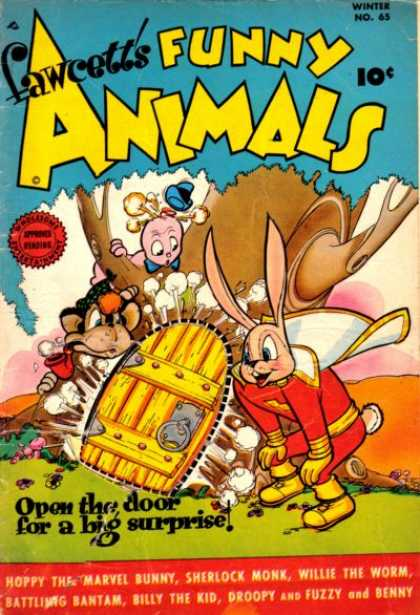 Fawcett's Funny Animals 64