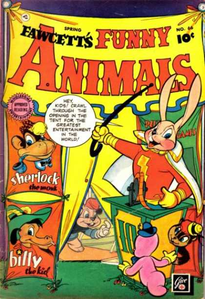 Fawcett's Funny Animals 65