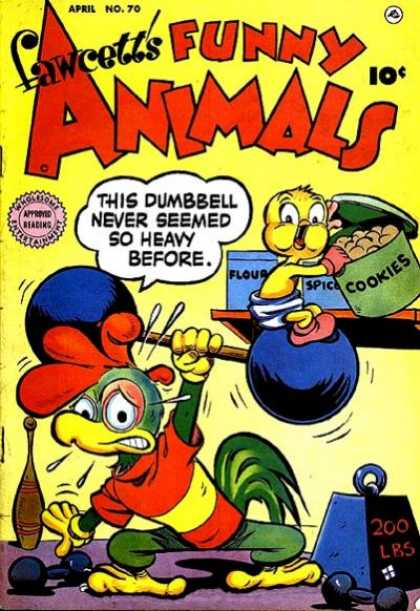 Fawcett's Funny Animals 68