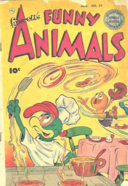 Fawcett's Funny Animals 70