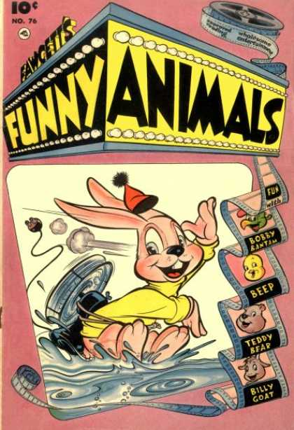 Fawcett's Funny Animals 74