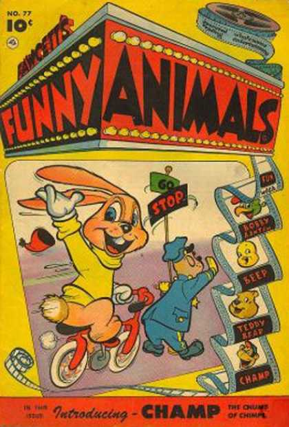Fawcett's Funny Animals 75