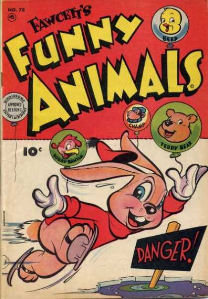 Fawcett's Funny Animals 76