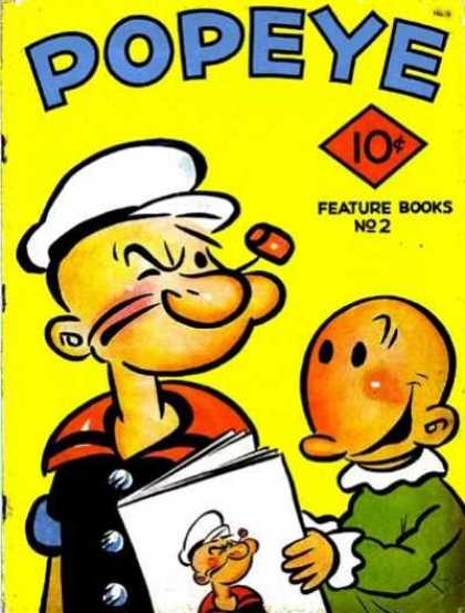 Feature Book 2 - 10u00a2 - Pipe - White Cap - Feature Books No 2 - Sailor