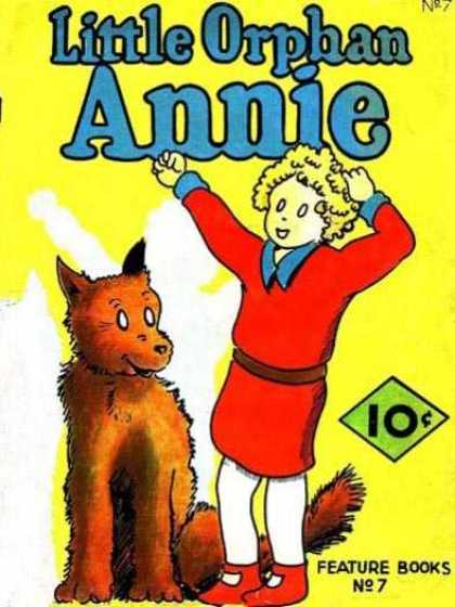 Feature Book 7 - Stupid Dog - Dog Lover - Annies Talent - Orphens Maind - Red Clothe