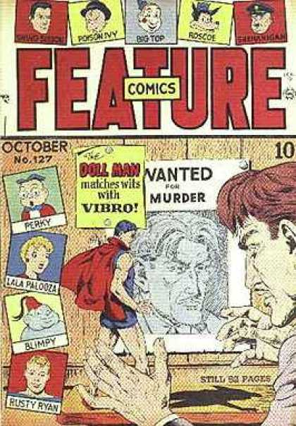 Feature Comics 127 - October - No127 - Doll Man - Wanted For Murder - 10