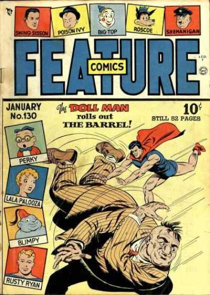 Feature Comics 130 - Big Top - Feature - Poison Ivy - Doll Man - Pearky