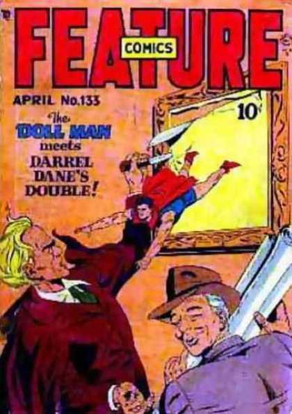 Feature Comics 133 - Doll Man - Darrel Dane - Double - Thieves - Stealing Paintings