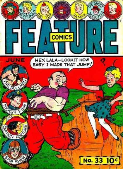 Feature Comics 33 - June - Dollman - Mickey Finn - Lala - Samar