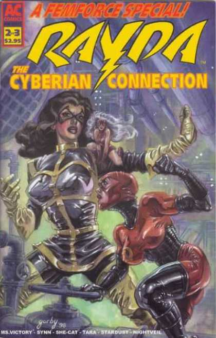 Femforce: Cyberian Connection 2 - Fem Force - Ms Victory - Synn - She-cat - Tara