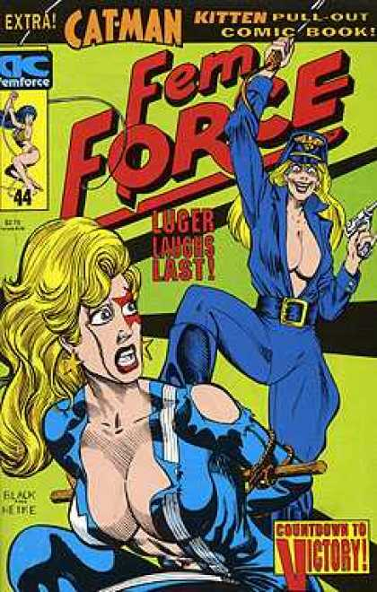 Femforce 44 - Bill Black, Mark Heike