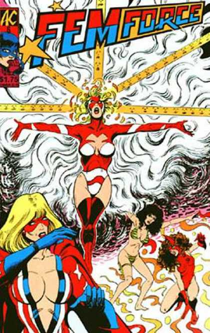 Femforce 6 - Femforce - Women - Superheroes - Small Costumes - Bill Black, Robert Walker
