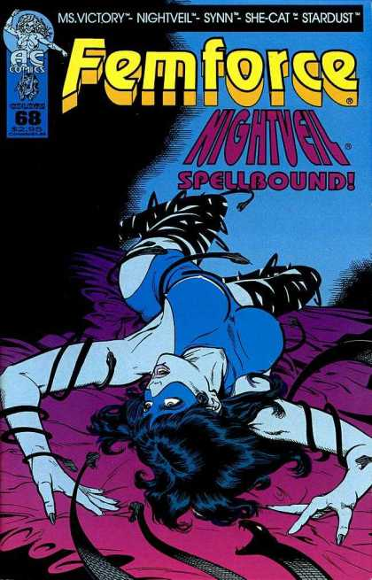 Femforce 68 - Femforce - Nightveil - Spellbound - She-cat - Ms Victory - Greg Horn, Mark Heike